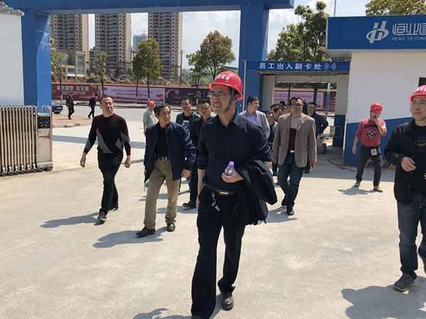 邵阳兄弟单位来我公司移动项目观摩