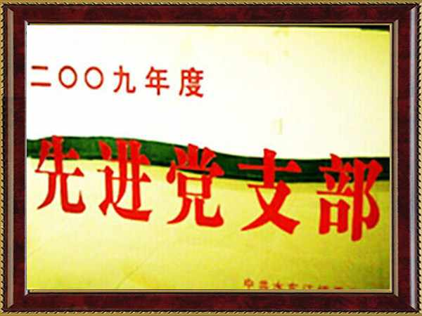 2009年度先進黨支部