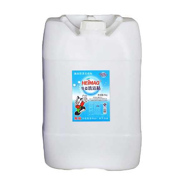 生姜洗洁精:(食品用、D级)25kg/桶