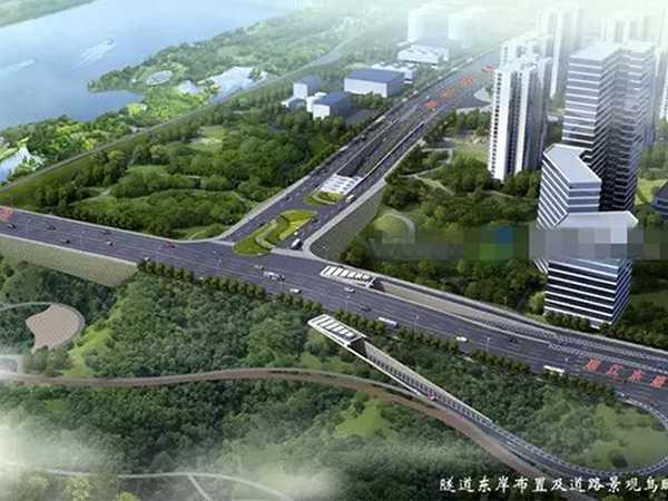 合江隧道鸟瞰图项目实施方案