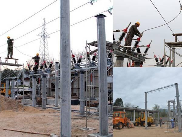 蘭蘆河35KV變電站工程