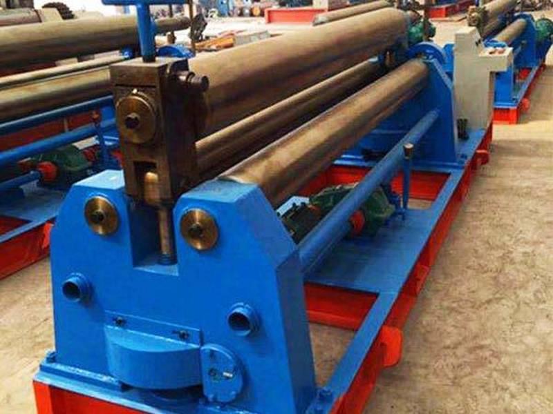 机械三辊锥直双能卷板机