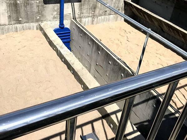 南京自来水厂过滤池发货安装