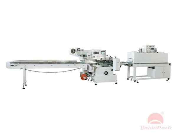 UPG-590全自动枕式高速套雁无语lei226膜收缩机