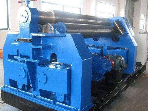 三辊机械预压卷板机