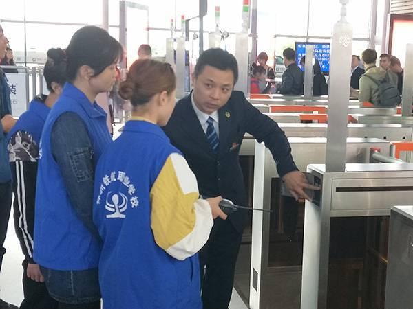 长沙南车站票检