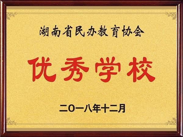 05湖南省民办教育协会优秀学校
