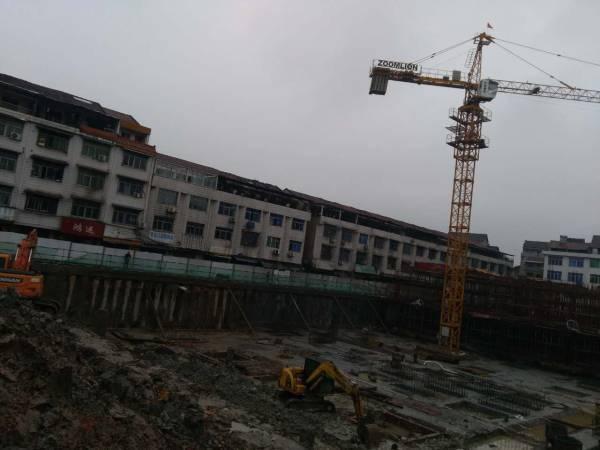 常德市桥南农贸市场基坑施工对周边房屋结构