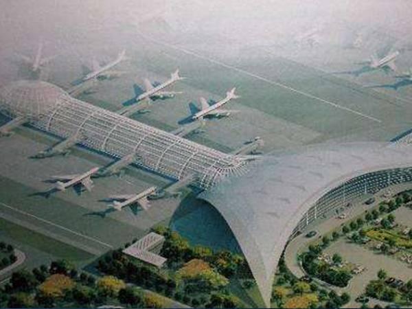 常德桃花源机场扩建工程T2航站高架桥