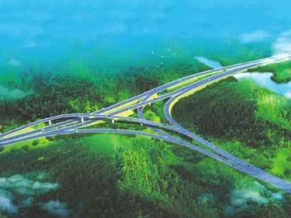 浏阳市西北环线道路