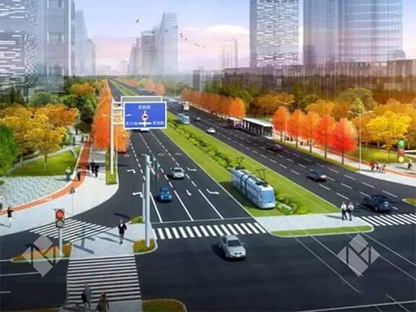 夏鹃路道路工程