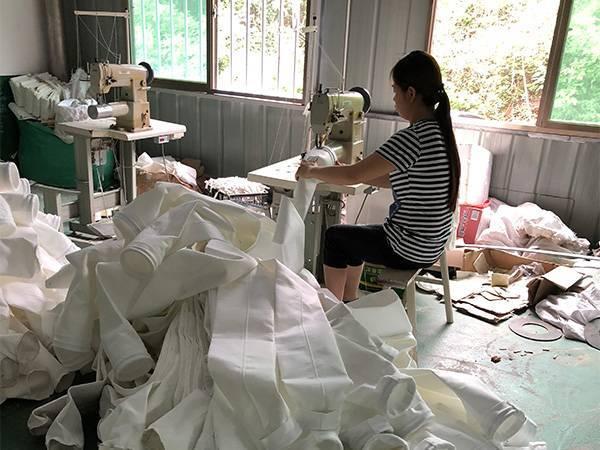 关于滤袋的制作过程