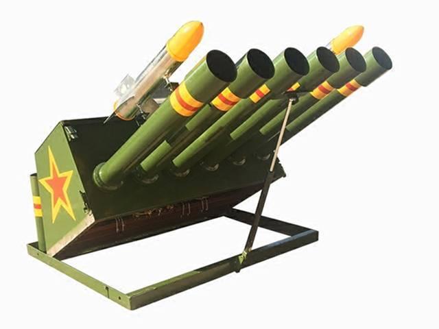 轻型礼炮机器