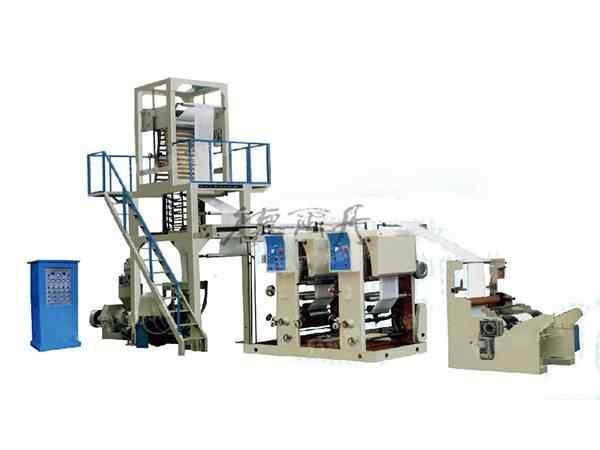 DED-50型吹膜凹版印刷連線一體機