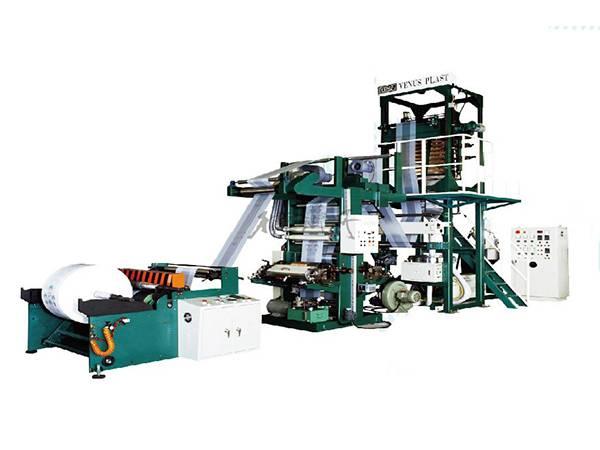 PE吹膜凹版印刷連線一體機