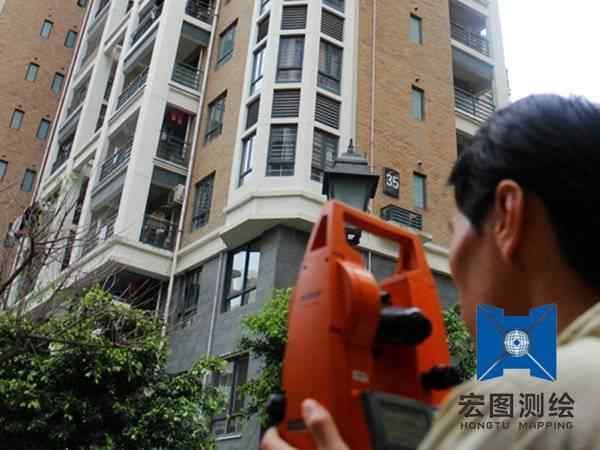 房屋建筑及工业建筑竣工测量
