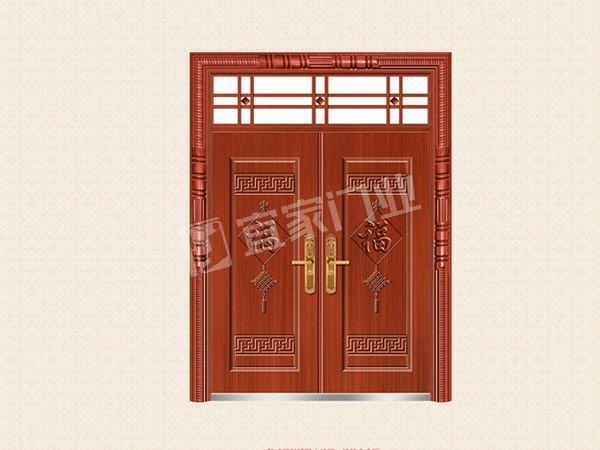 YJ-6025中国结对开门(仿红铜)