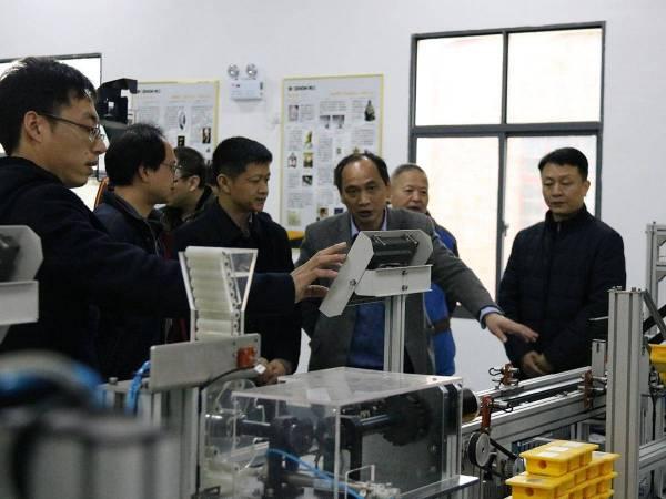 机器人生产线谍演示