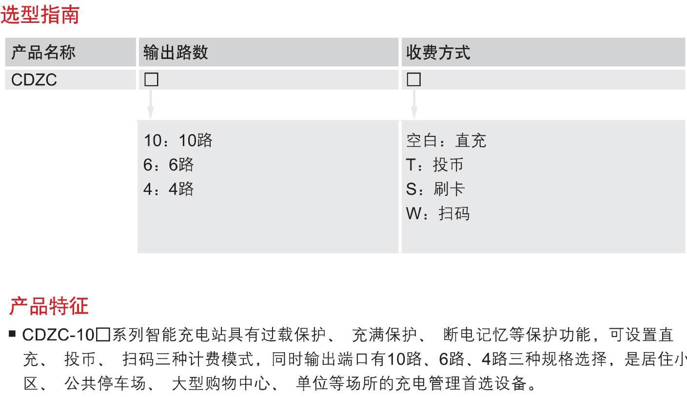 CDZC-□T(W)系列4路、6路、10
