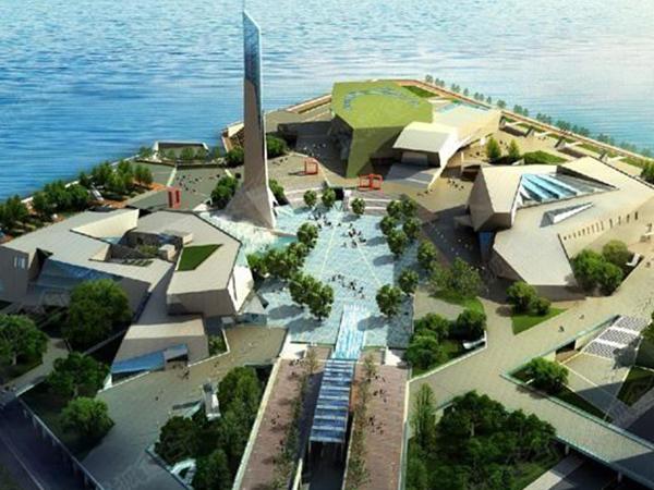 长沙市滨江文化公园二馆一厅工程