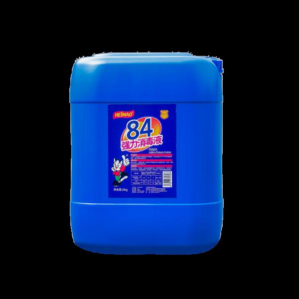 84强力消毒液装25kg大桶装84工厂复工学校开学美容院杀灭病毒