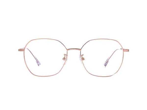 宝视达防蓝光防辐射眼镜多边形框架眼镜框男
