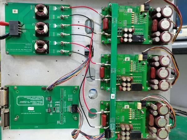 恩耐中功率光纤激光器维修展示