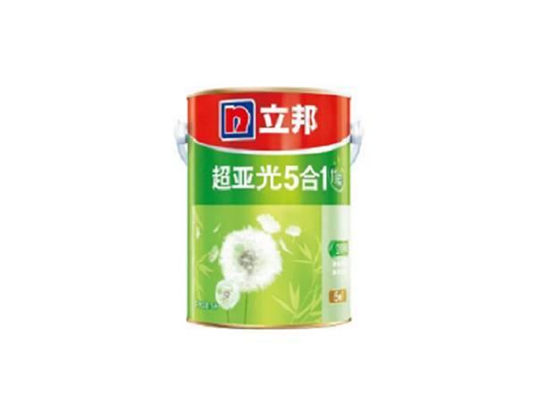 立邦内墙乳胶漆面漆竹炭超亚光净味五合一5