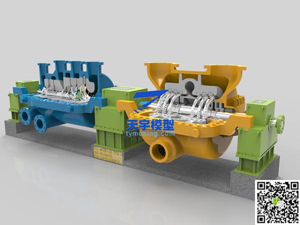 中核集团循环氢机组模型