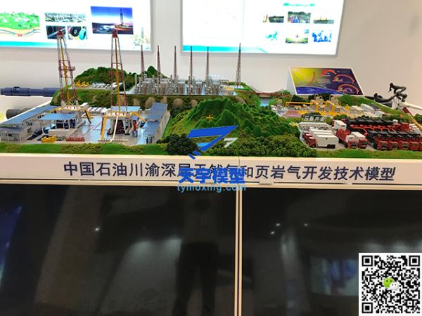 中国石油天然气开采模型