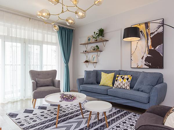 客廳沙發擺放及背景墻設計應注意哪些方面?