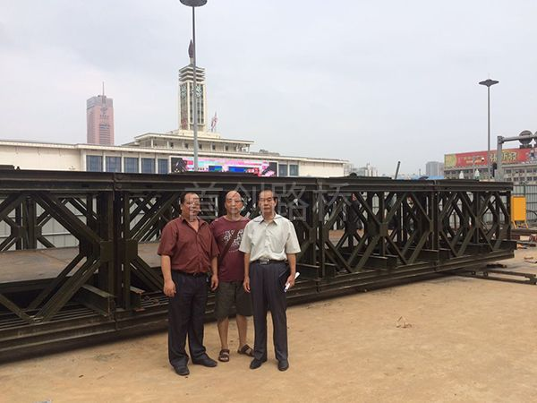 长沙中建五局火车站人行天桥