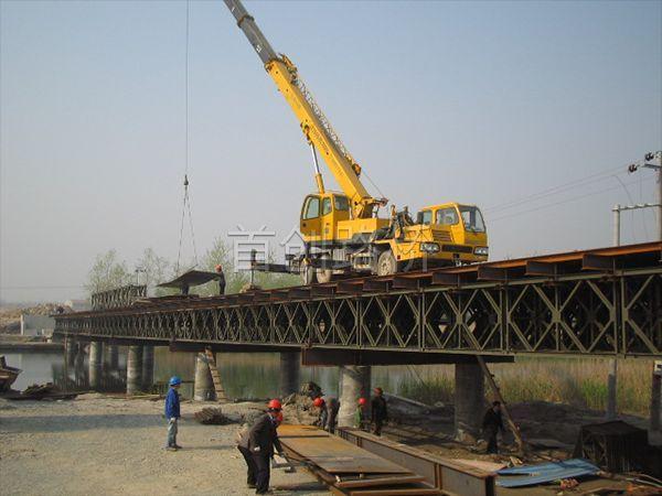 杭州湾跨海施工栈桥