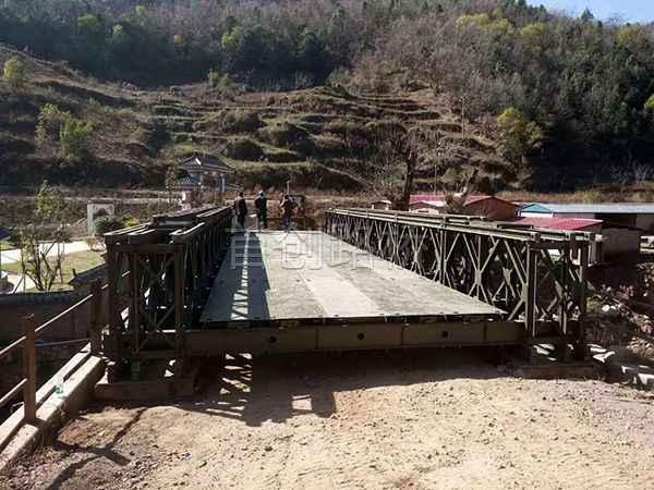 云南四座桥18米三排单层加强型
