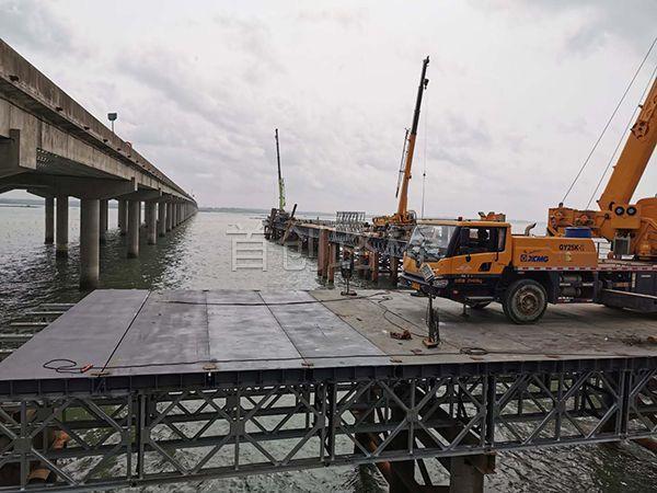 广西北海铁山港跨海大桥4.7公里(中铁十六局)