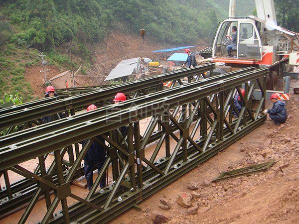 永州路桥道县国道改造27m钢桥(永州公路局)