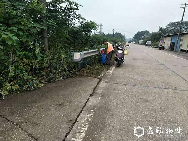 湘龙街道农村道路保洁