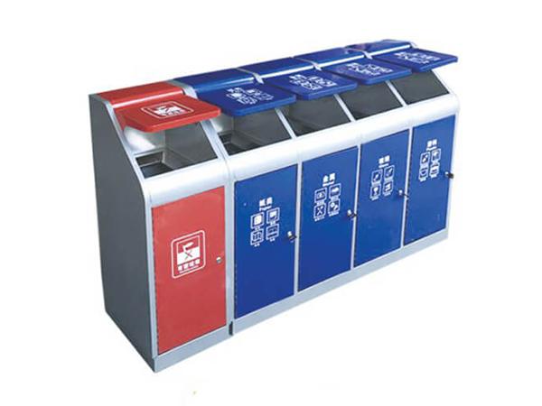 如何选择垃圾亭的颜色——分类颜色搭配规律