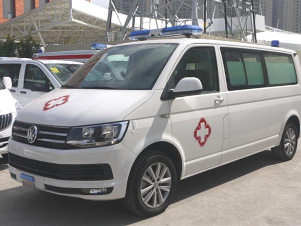 德国原装进口大众(凯路威)平顶商务型救护车