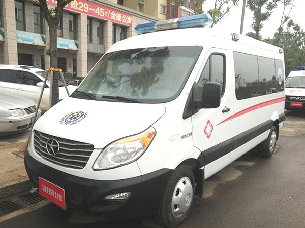 江淮星锐五系柴油监护型救护车