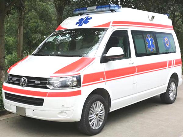 德国原装进口大众(凯路威)高顶监护型救护车