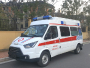 江铃特顺长轴柴油中顶监狱医院专用救护车