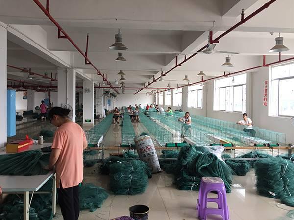 渔网的编织方法