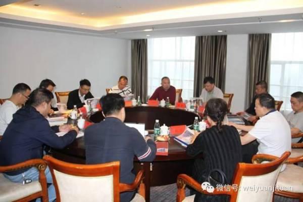 中国科技开发院杨斌院长莅临魏源集团考察