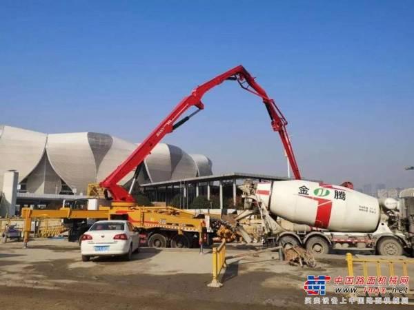 华东第二大!三一成套混凝土装备参建萧山国际机场