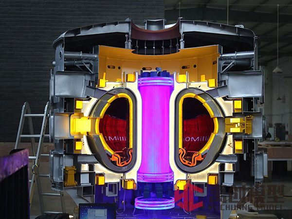 核聚变人造太阳模型