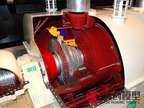 智慧电厂汽轮机模型-凝汽式汽轮机模型- 核汽轮机模型