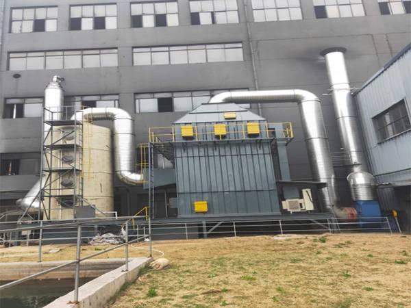 碳素废气项目(喷淋塔+高压静电除烟)
