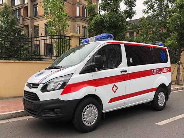 (自动挡)福特新全顺V362短轴低顶汽油转运型救护车
