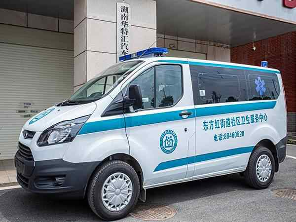 (自动挡)福特新全顺V362短轴低顶汽油监护型救护车